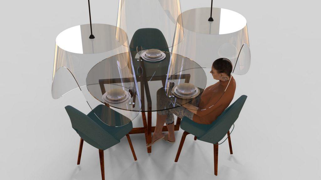 PLEX'EAT una cápsula gigante para disfrutar de una cena con amigos en bares y restaurantes 2