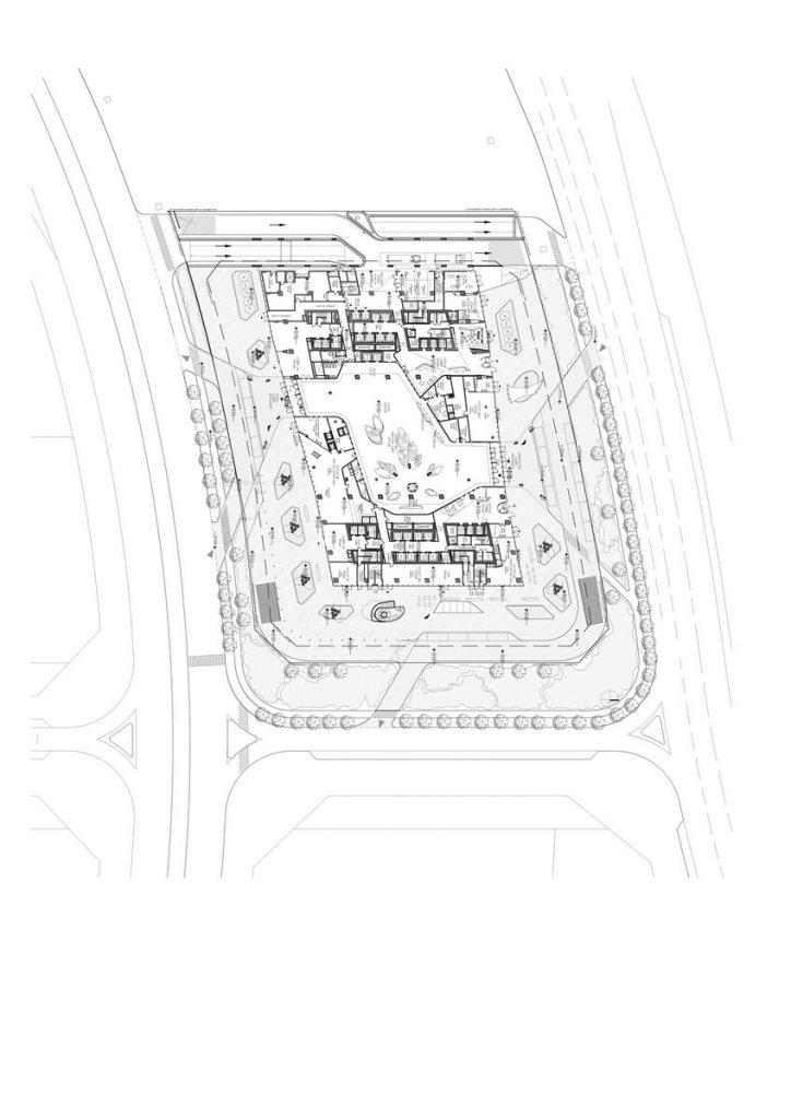 """Finalmente se completó """"ME Dubai hotel en el Opus"""". Un proyecto 100% diseño de Zaha Hadid. 9"""