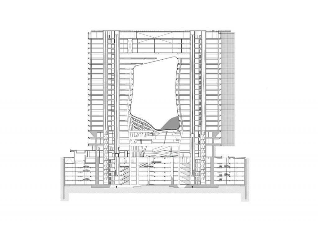 """Finalmente se completó """"ME Dubai hotel en el Opus"""". Un proyecto 100% diseño de Zaha Hadid. 8"""