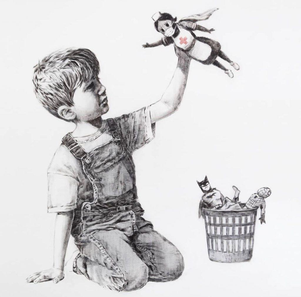 El Superhéroe de Banksy 1