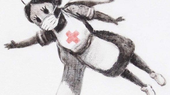El Superhéroe de Banksy 22