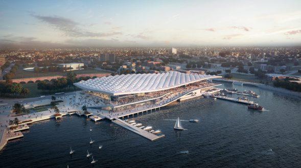 El diseño de vanguardia de 3XN para Sydney Fish Market obtiene el visto bueno final 16