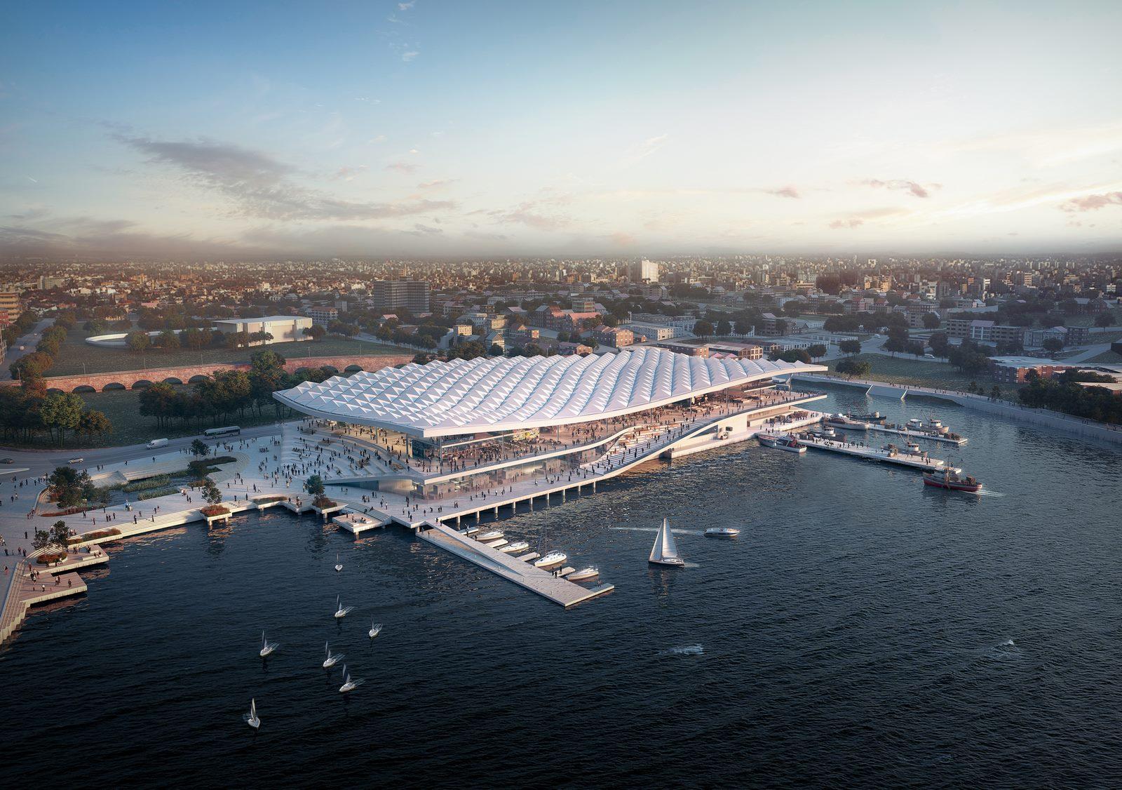 El diseño de vanguardia de 3XN para Sydney Fish Market obtiene el visto bueno final 9