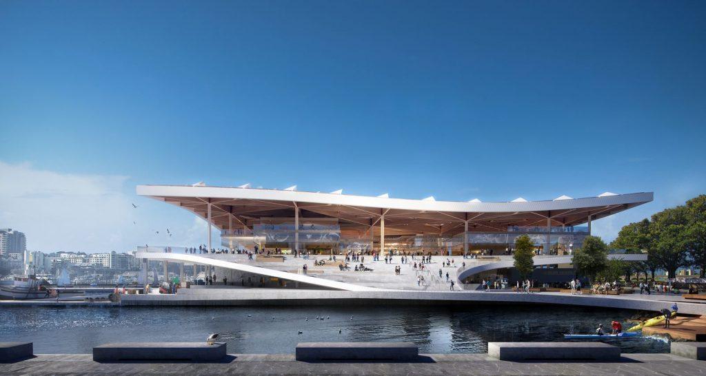 El diseño de vanguardia de 3XN para Sydney Fish Market obtiene el visto bueno final 1