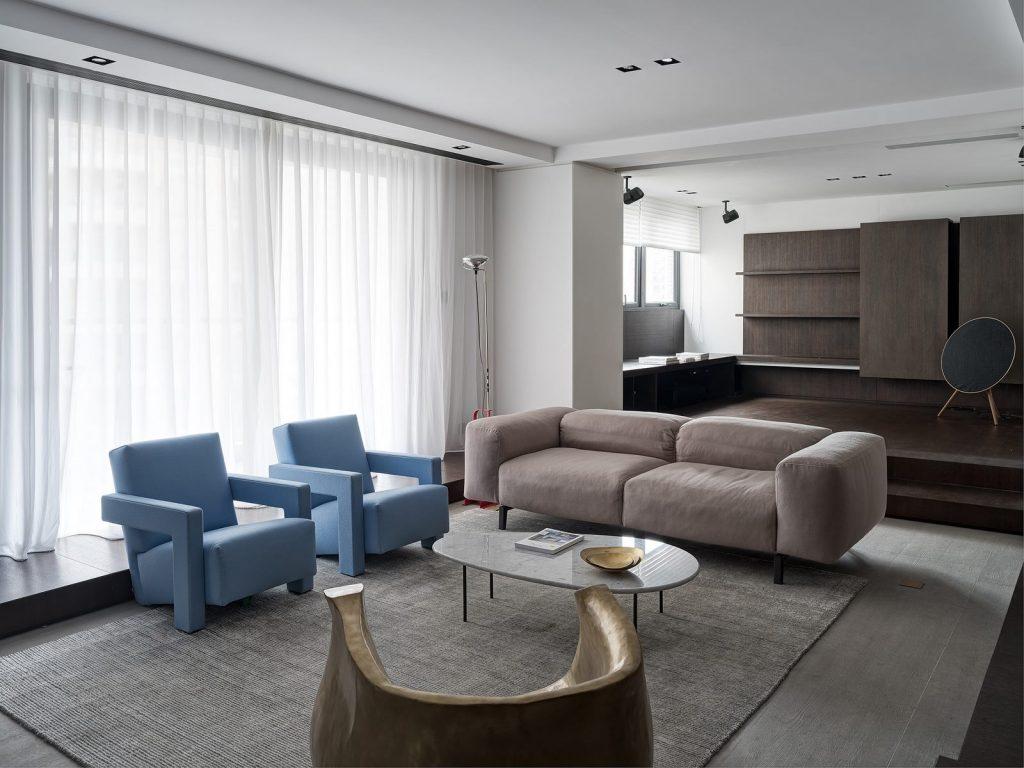 Hogar exploratorio, un vivienda moderna y minimalista 9