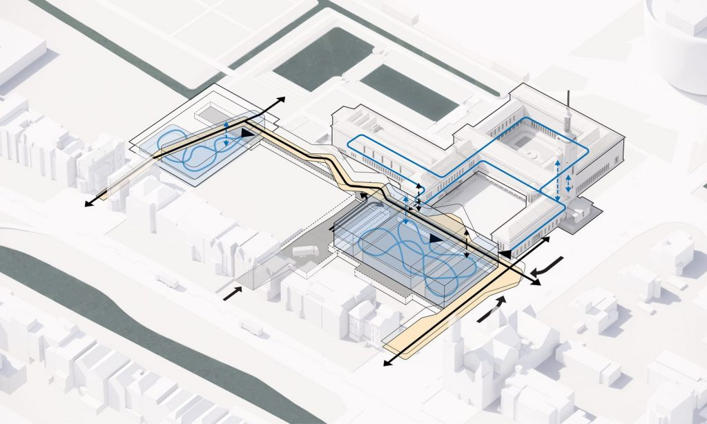 Nueva propuesta de Mecanoo para el Museo Boijmans van Beuningen, Rotterdam 8