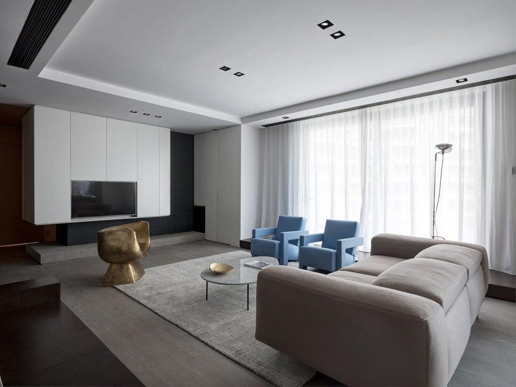 Hogar exploratorio, un vivienda moderna y minimalista 12