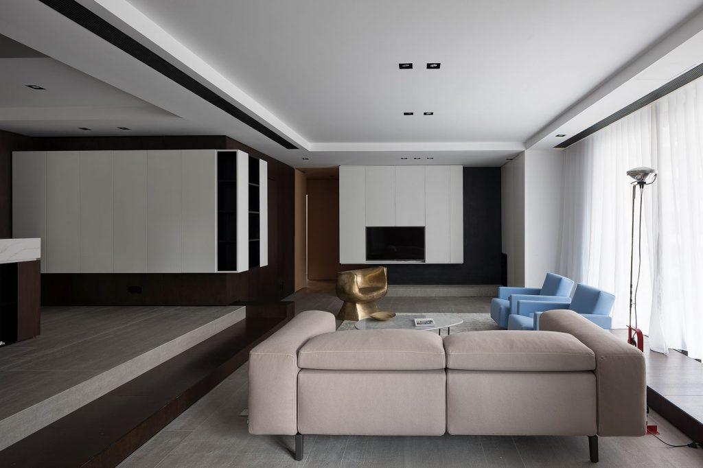 Hogar exploratorio, un vivienda moderna y minimalista 11