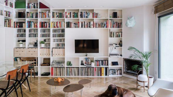 Una escalera integradora y protagonista en esta vivienda en Madrid 39