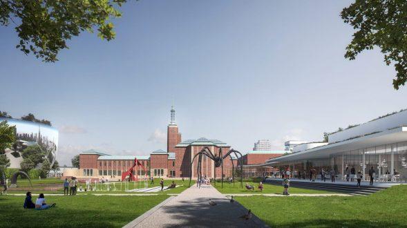 Nueva propuesta de Mecanoo para el Museo Boijmans van Beuningen, Rotterdam 1