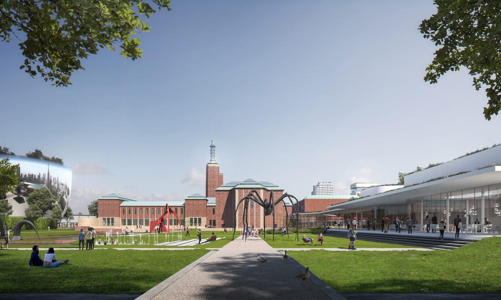 Nueva propuesta de Mecanoo para el Museo Boijmans van Beuningen, Rotterdam 11