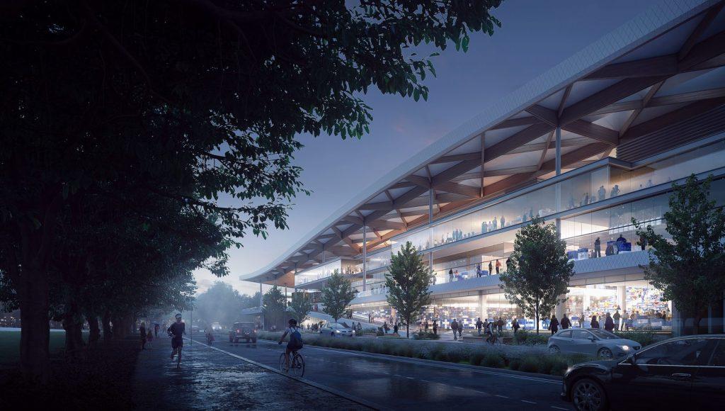El diseño de vanguardia de 3XN para Sydney Fish Market obtiene el visto bueno final 2