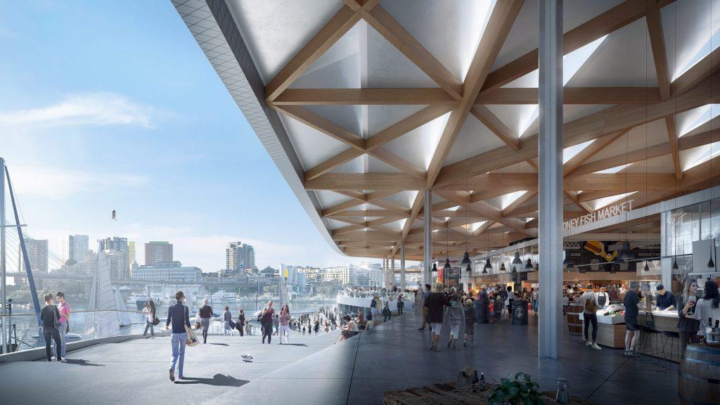 El diseño de vanguardia de 3XN para Sydney Fish Market obtiene el visto bueno final 3