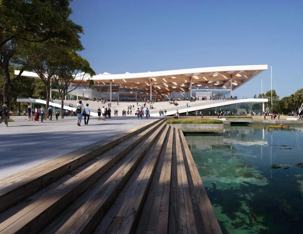 El diseño de vanguardia de 3XN para Sydney Fish Market obtiene el visto bueno final 4