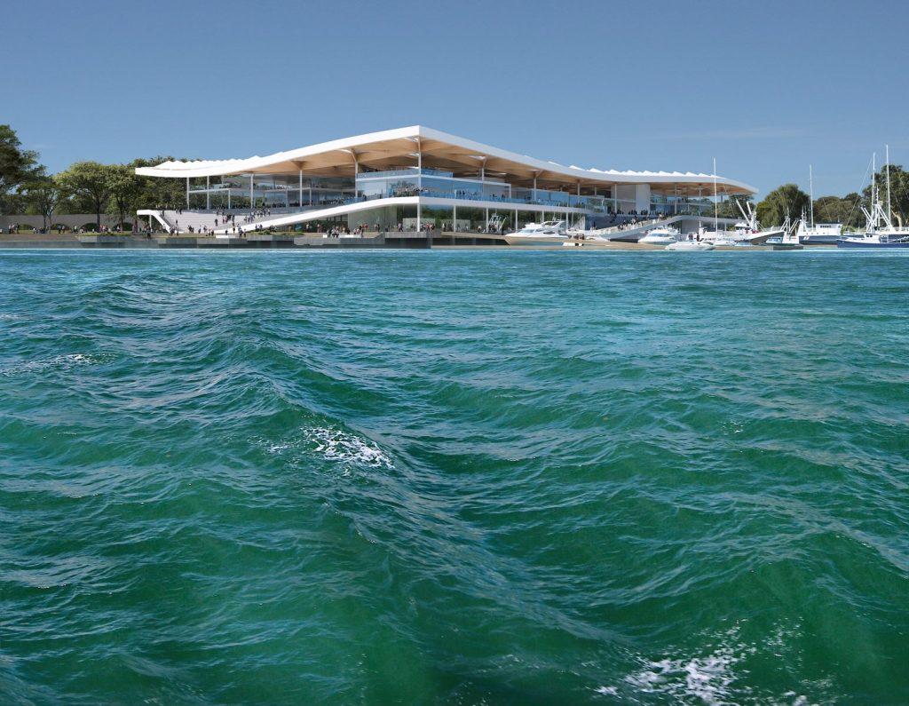 El diseño de vanguardia de 3XN para Sydney Fish Market obtiene el visto bueno final 6