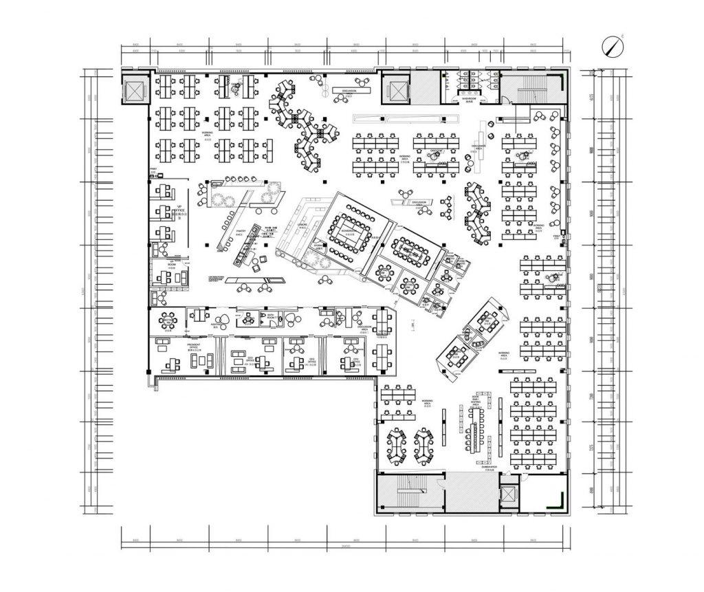 inDeco explora el futuro espacio de trabajo mediante diseño modular en las oficinas de Byton Nanjing 10