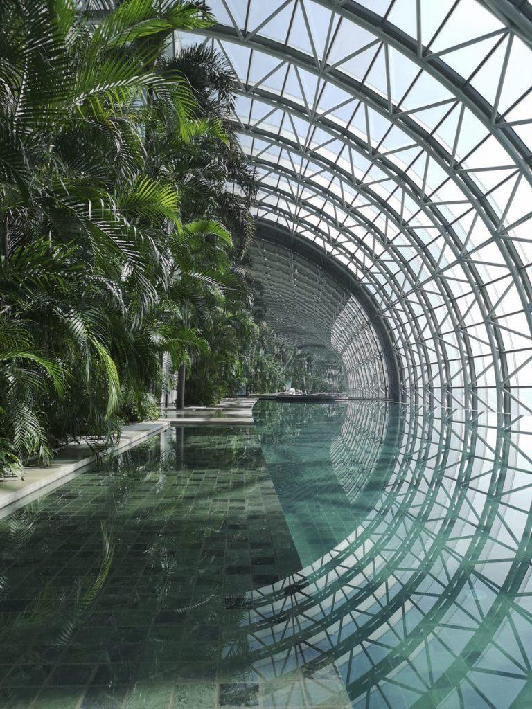 Una torre de Cristal horizontal de 300 metros de largo en Raffles City Chongqing 6