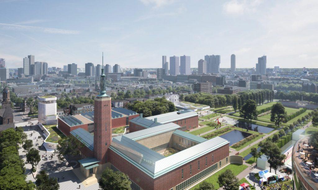 Nueva propuesta de Mecanoo para el Museo Boijmans van Beuningen, Rotterdam 7