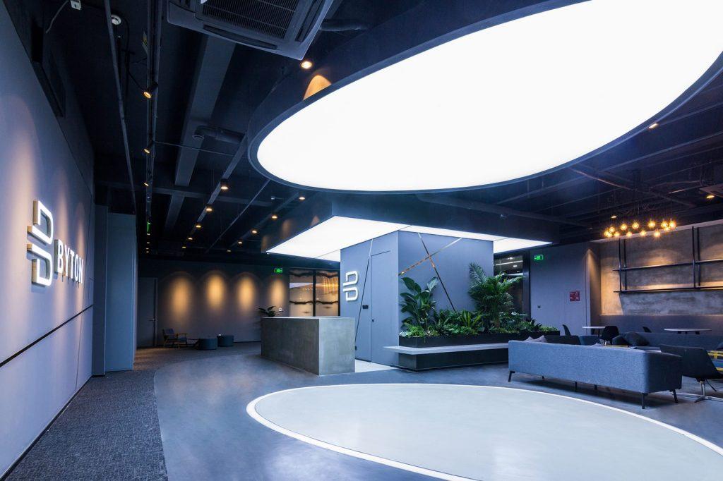 inDeco explora el futuro espacio de trabajo mediante diseño modular en las oficinas de Byton Nanjing 2