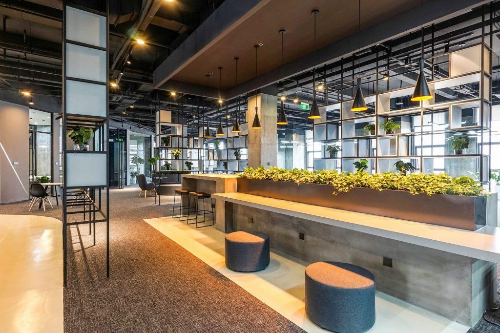 inDeco explora el futuro espacio de trabajo mediante diseño modular en las oficinas de Byton Nanjing 15