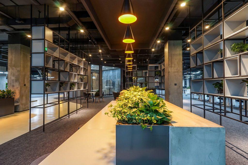 inDeco explora el futuro espacio de trabajo mediante diseño modular en las oficinas de Byton Nanjing 17