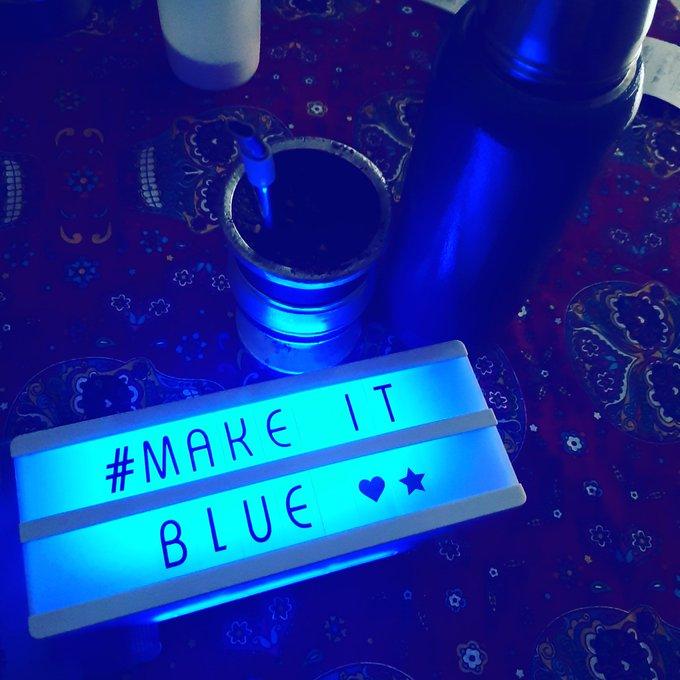 Argentina se suma a la iniciativa mundial #MakeitBlue 4