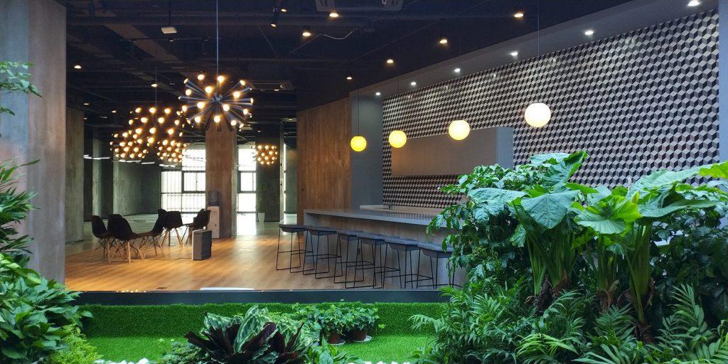 inDeco explora el futuro espacio de trabajo mediante diseño modular en las oficinas de Byton Nanjing 19