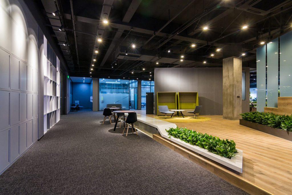 inDeco explora el futuro espacio de trabajo mediante diseño modular en las oficinas de Byton Nanjing 14