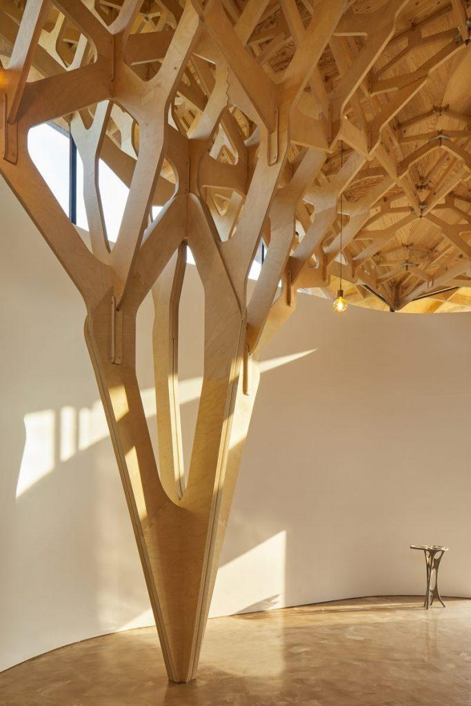 La casa de tres árboles 8