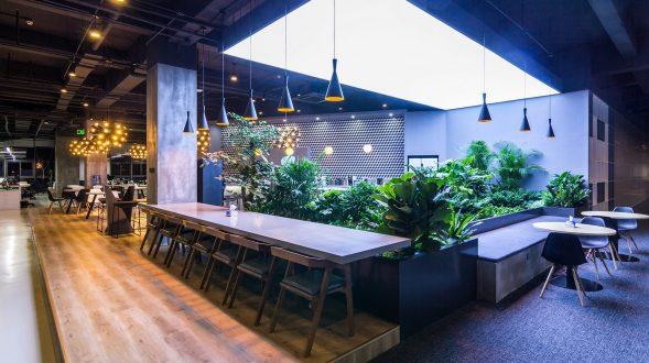 inDeco explora el futuro espacio de trabajo mediante diseño modular en las oficinas de Byton Nanjing 41