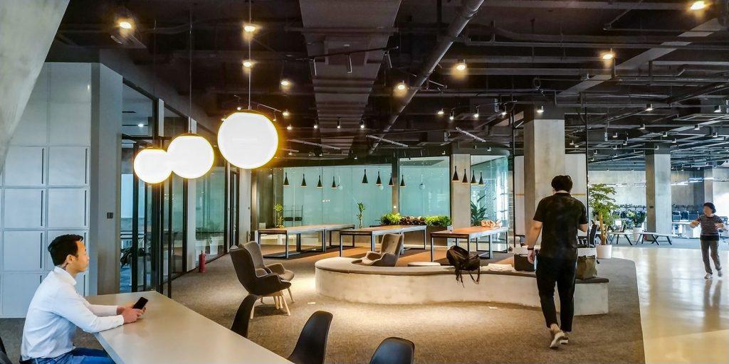inDeco explora el futuro espacio de trabajo mediante diseño modular en las oficinas de Byton Nanjing 4