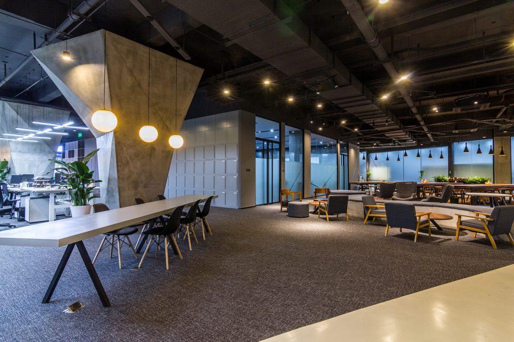 inDeco explora el futuro espacio de trabajo mediante diseño modular en las oficinas de Byton Nanjing 5