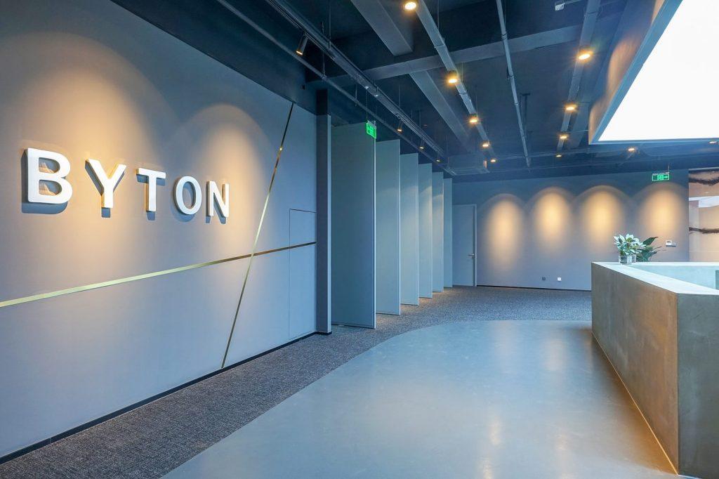 inDeco explora el futuro espacio de trabajo mediante diseño modular en las oficinas de Byton Nanjing 1