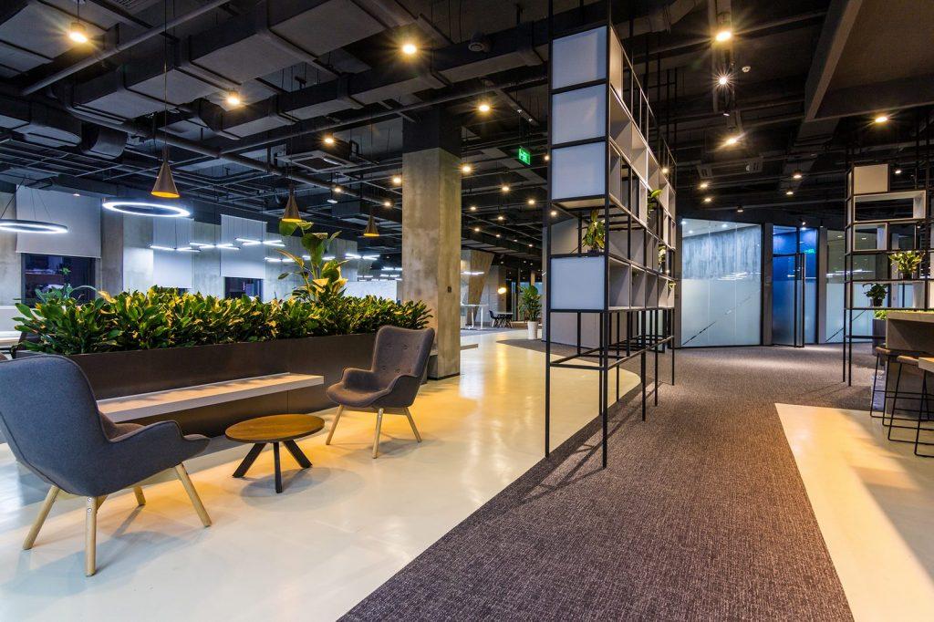 inDeco explora el futuro espacio de trabajo mediante diseño modular en las oficinas de Byton Nanjing 22