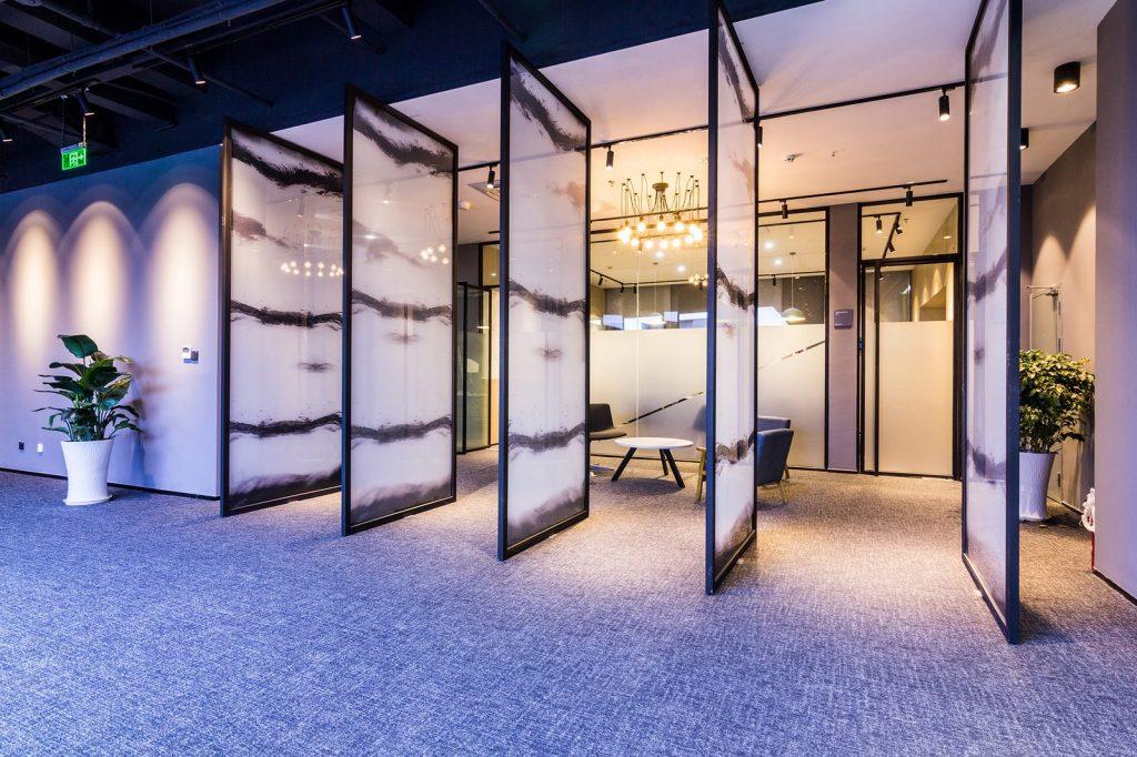 inDeco explora el futuro espacio de trabajo mediante diseño modular en las oficinas de Byton Nanjing 23