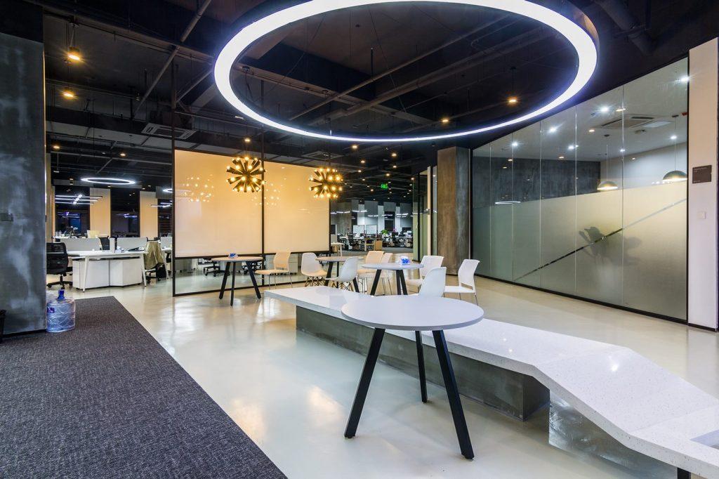 inDeco explora el futuro espacio de trabajo mediante diseño modular en las oficinas de Byton Nanjing 3