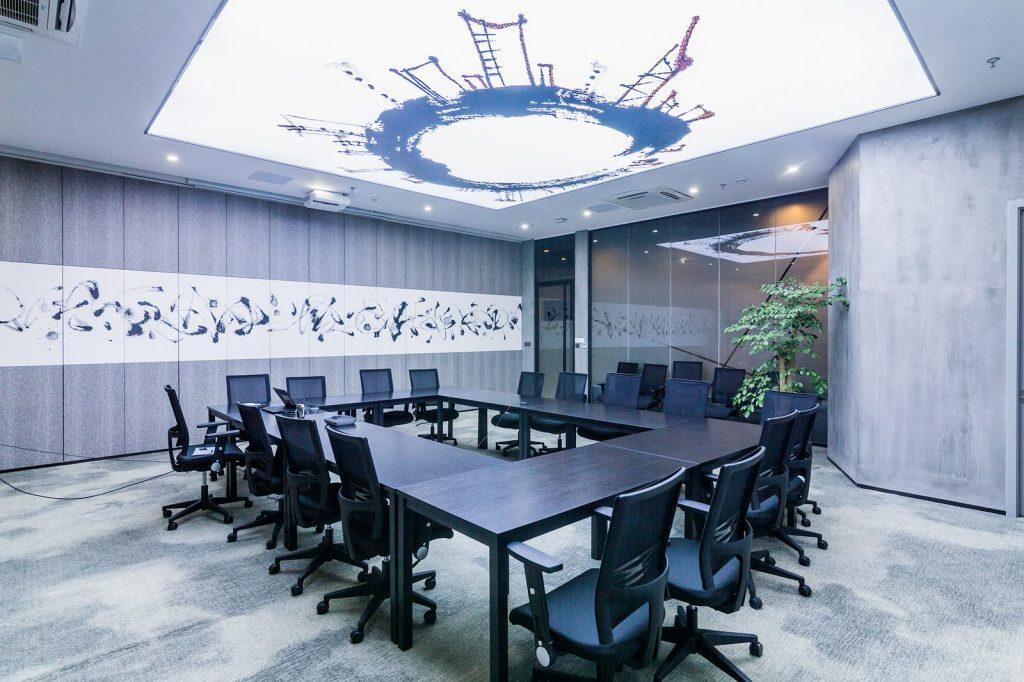 inDeco explora el futuro espacio de trabajo mediante diseño modular en las oficinas de Byton Nanjing 7