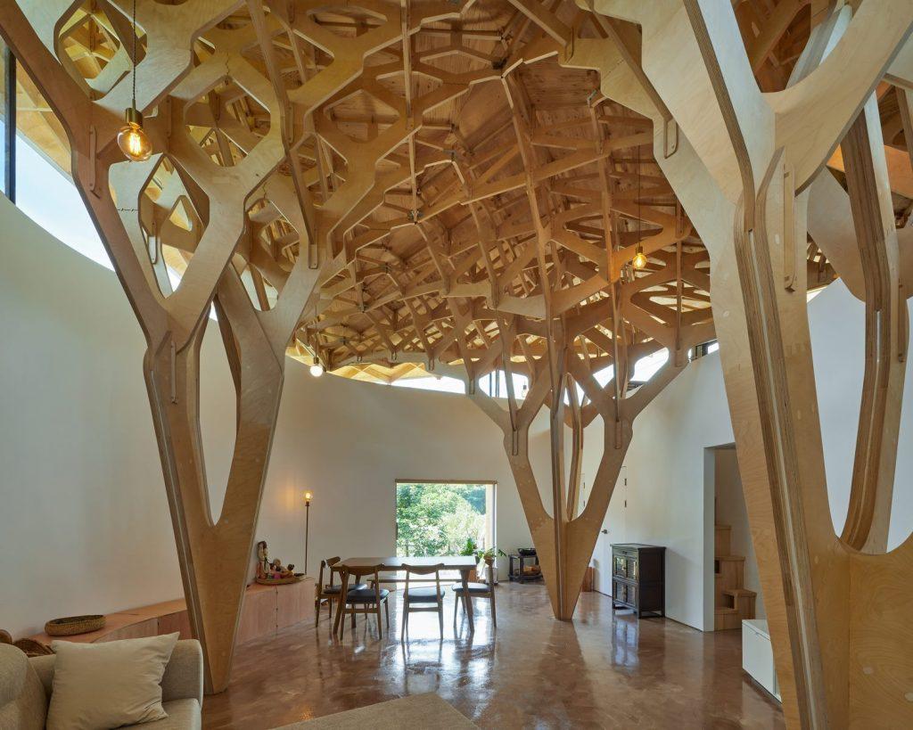 La casa de tres árboles 22
