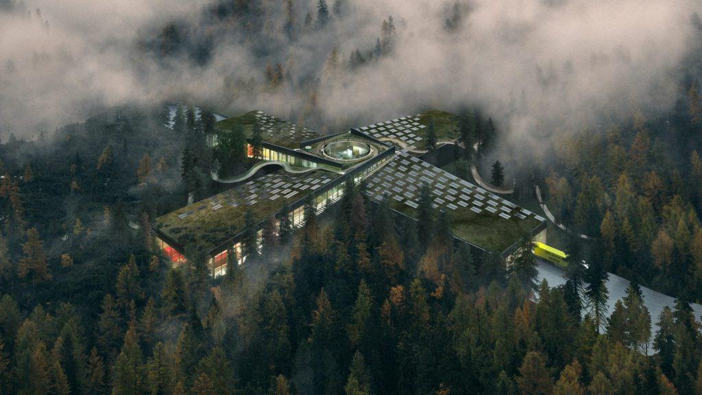 The Plus, la fábrica de muebles más sostenible del mundo ubicada en el corazón del bosque noruego 1
