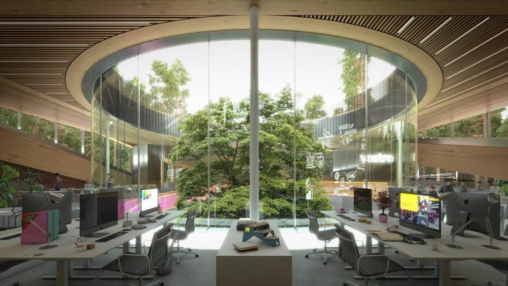 The Plus, la fábrica de muebles más sostenible del mundo ubicada en el corazón del bosque noruego 4