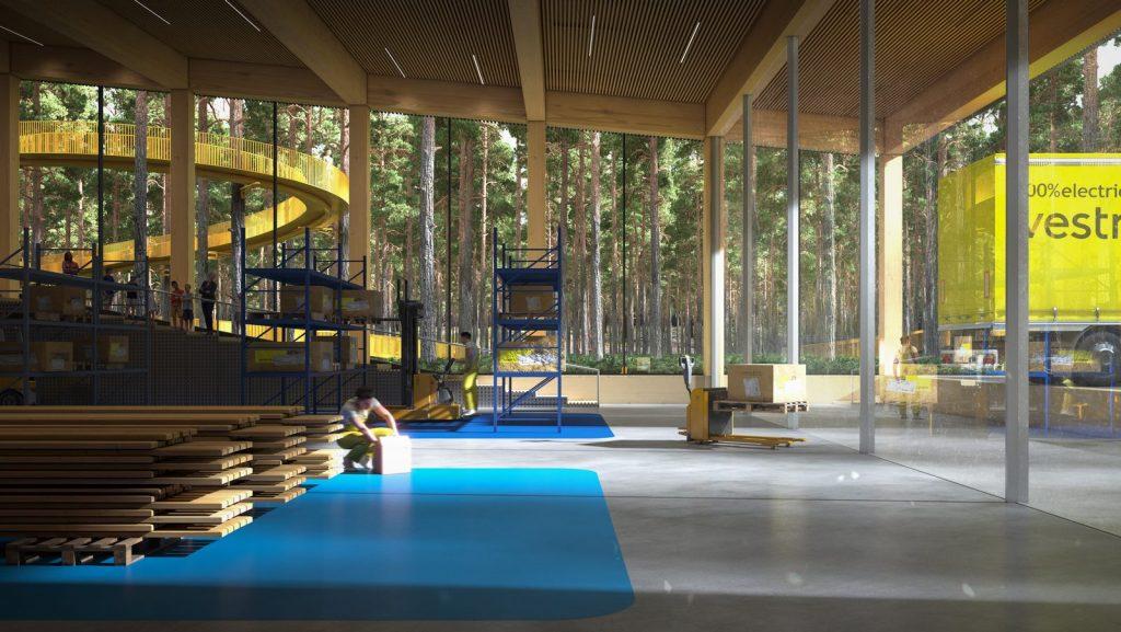 The Plus, la fábrica de muebles más sostenible del mundo ubicada en el corazón del bosque noruego 7