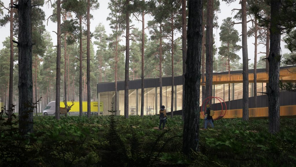 The Plus, la fábrica de muebles más sostenible del mundo ubicada en el corazón del bosque noruego 19