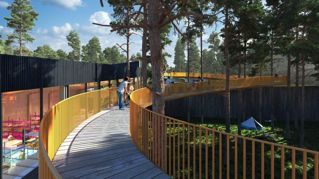 The Plus, la fábrica de muebles más sostenible del mundo ubicada en el corazón del bosque noruego 20