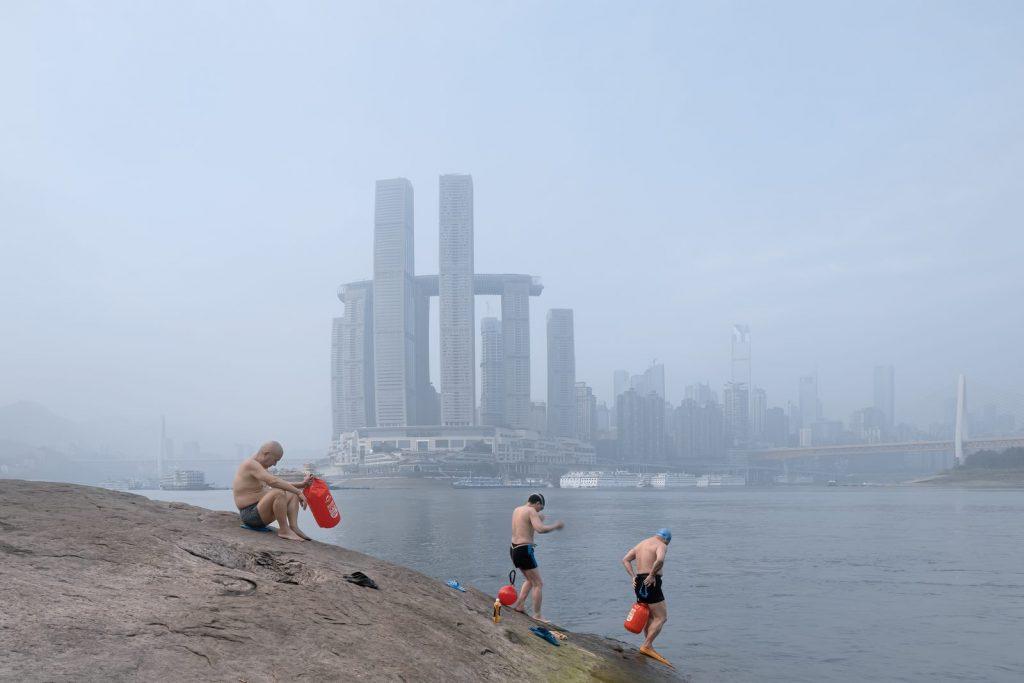 Raffles City Chongqing, Una proa sobre tierra 11