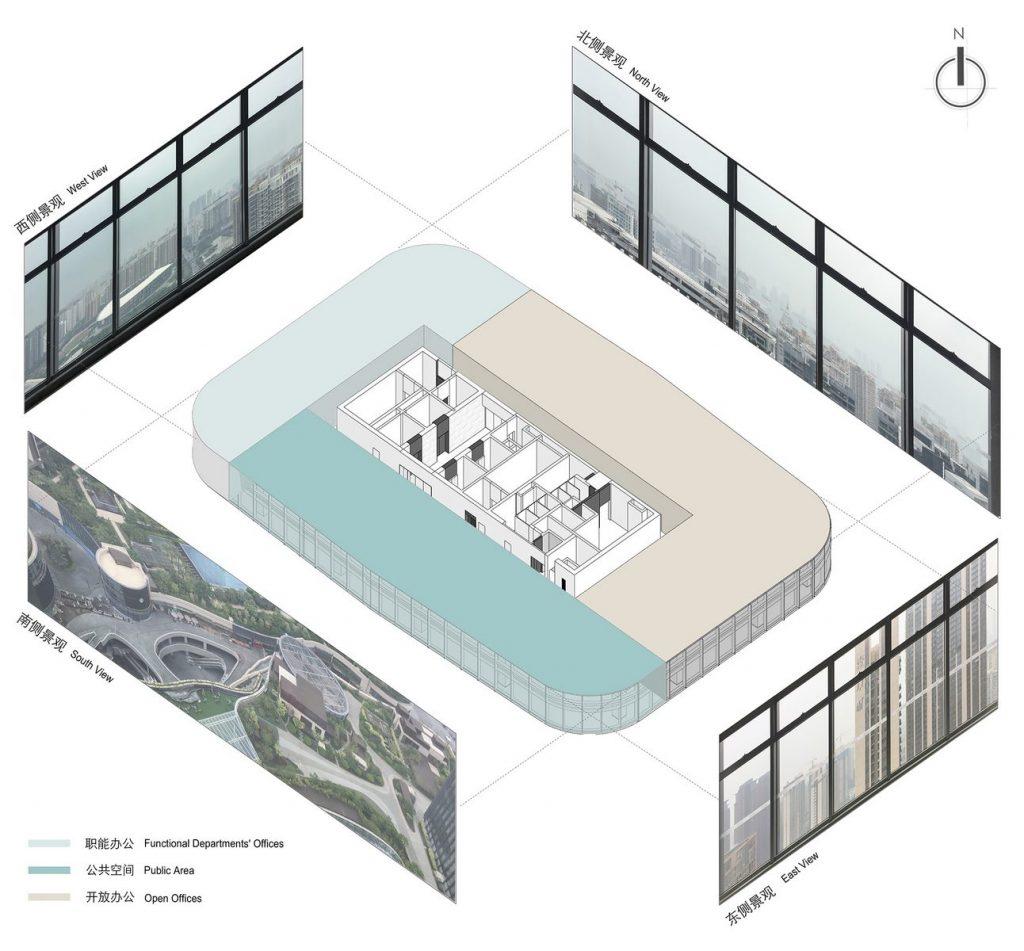 Oficina en el futuro: Sede de ViaBTC 3