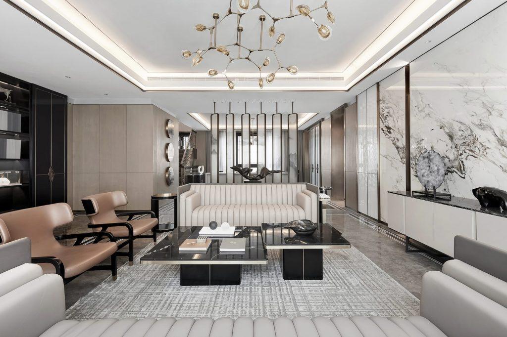 Hangzhou Boee · Villa modelo del patio de Hufeng 4