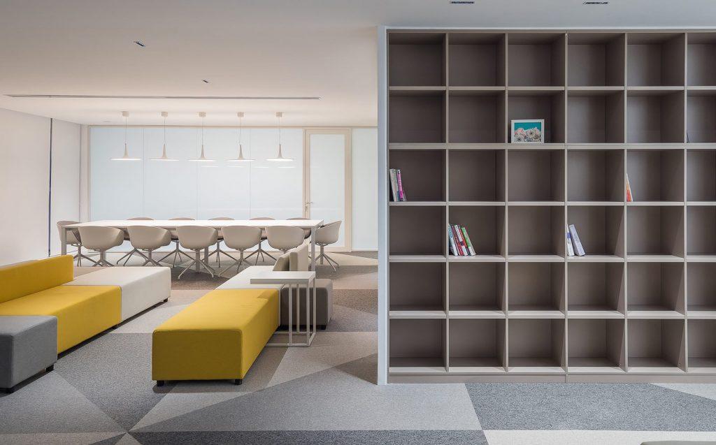 Oficina en el futuro: Sede de ViaBTC 6