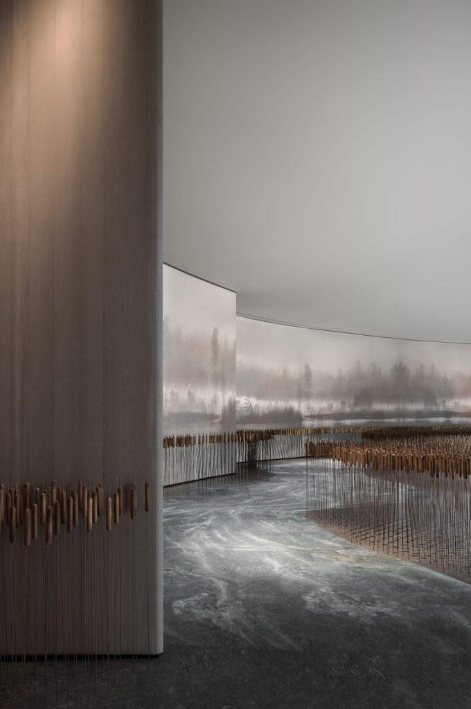Centro de vendas Xi'an Vanke · View Lake 10'an VANKE · VIEW LAKE 10