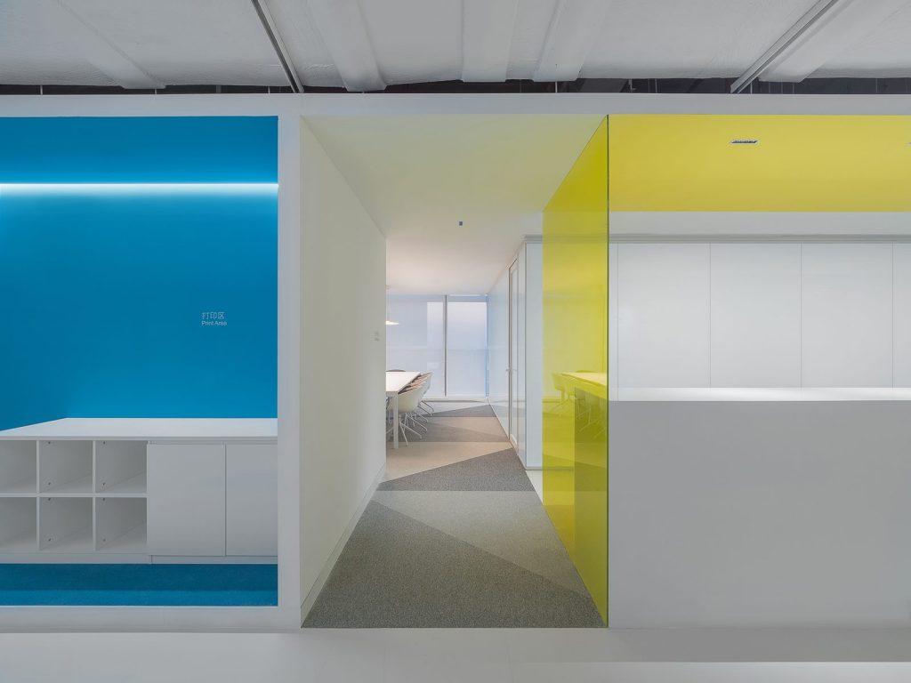 Oficina en el futuro: Sede de ViaBTC 18