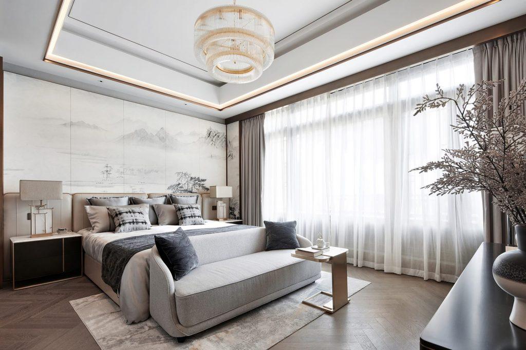 Hangzhou Boee · Villa modelo del patio de Hufeng 17